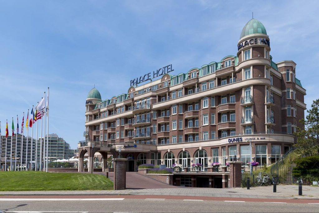 Hotel aan zee Radisson Blu Palace Hotel Noordwijk