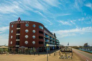 Apolo hotel aan zee in IJmuiden