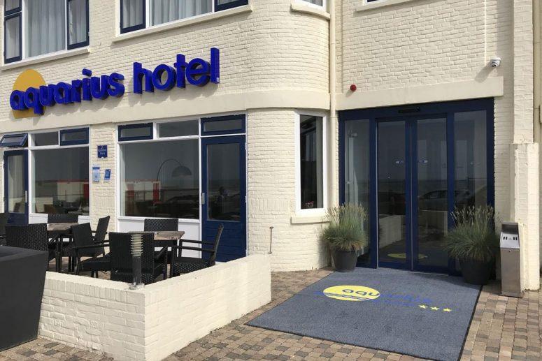 Hotel aan de boulevard van Scheveningen