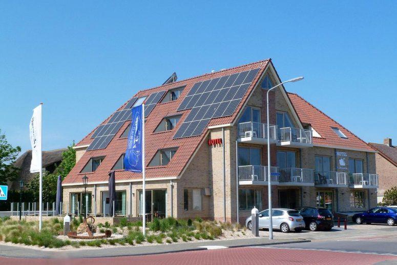 Hotel aan het strand in Callantsoog