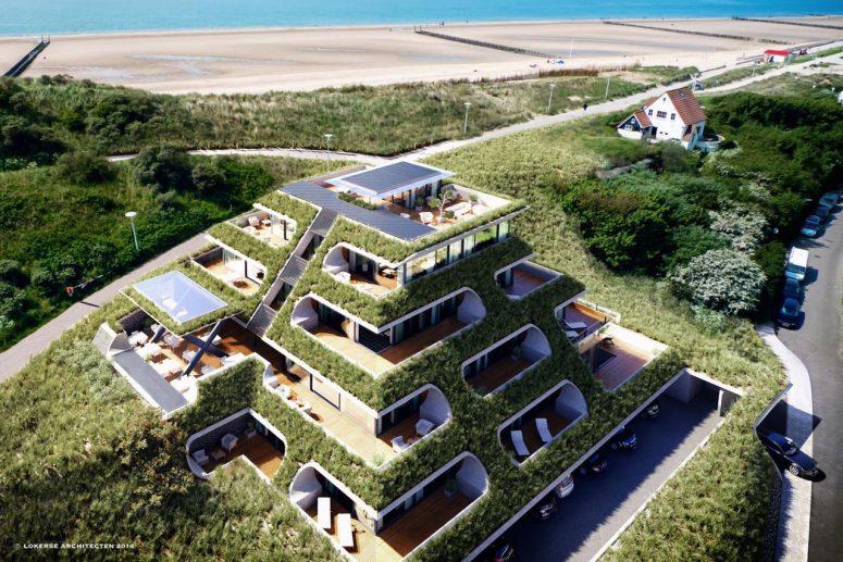 Hotel aan zee in Zoutelande