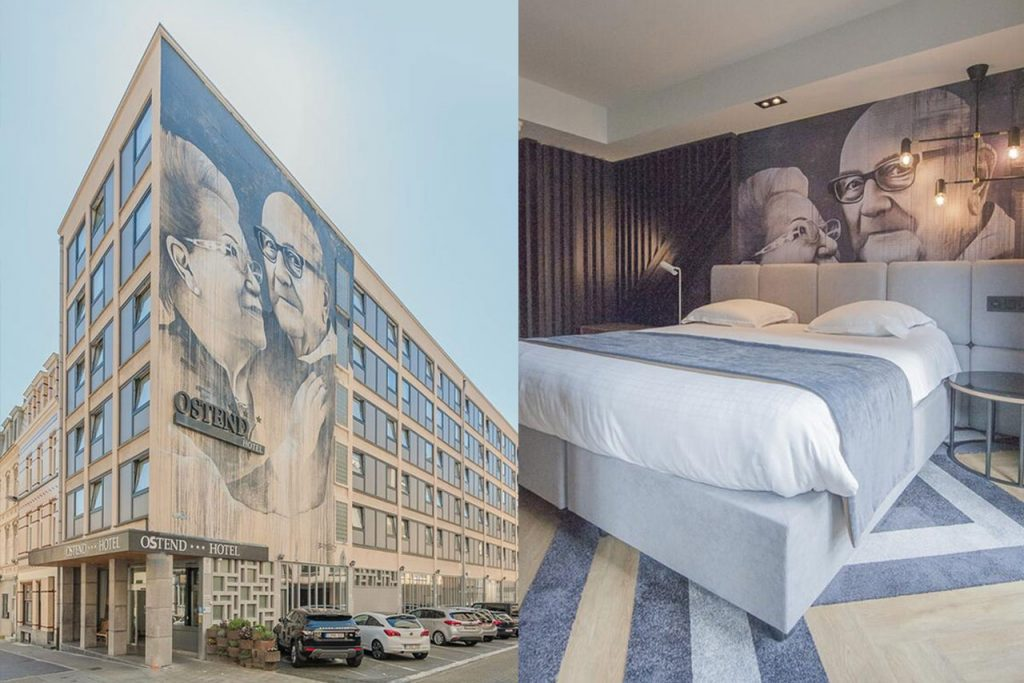 Hotel aan zee Oostende