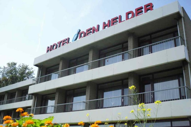 Hotel Den Helder aan zee met bowlingbaan