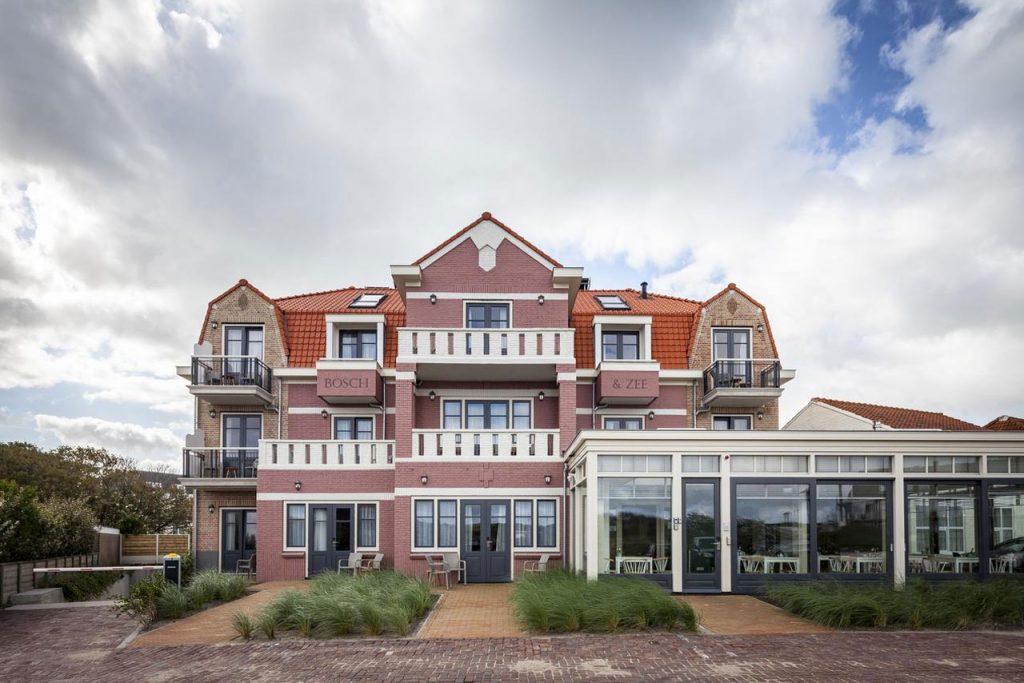 Hotel Domburg aan zee in Hotel Bosch En Zee