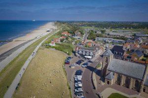 Strandhotel Zoutelande aan zee