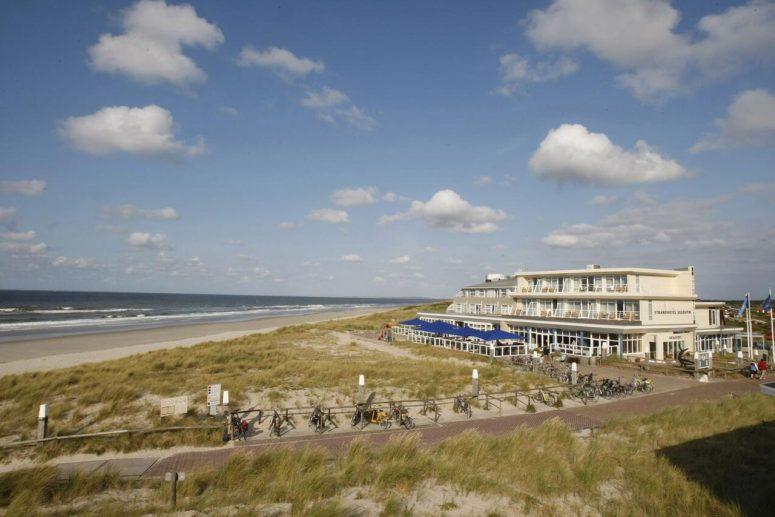 WestCord hotel aan zee op Vlieland