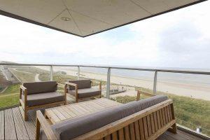 Appartement met balkon en uitzicht Egmond aan Zee