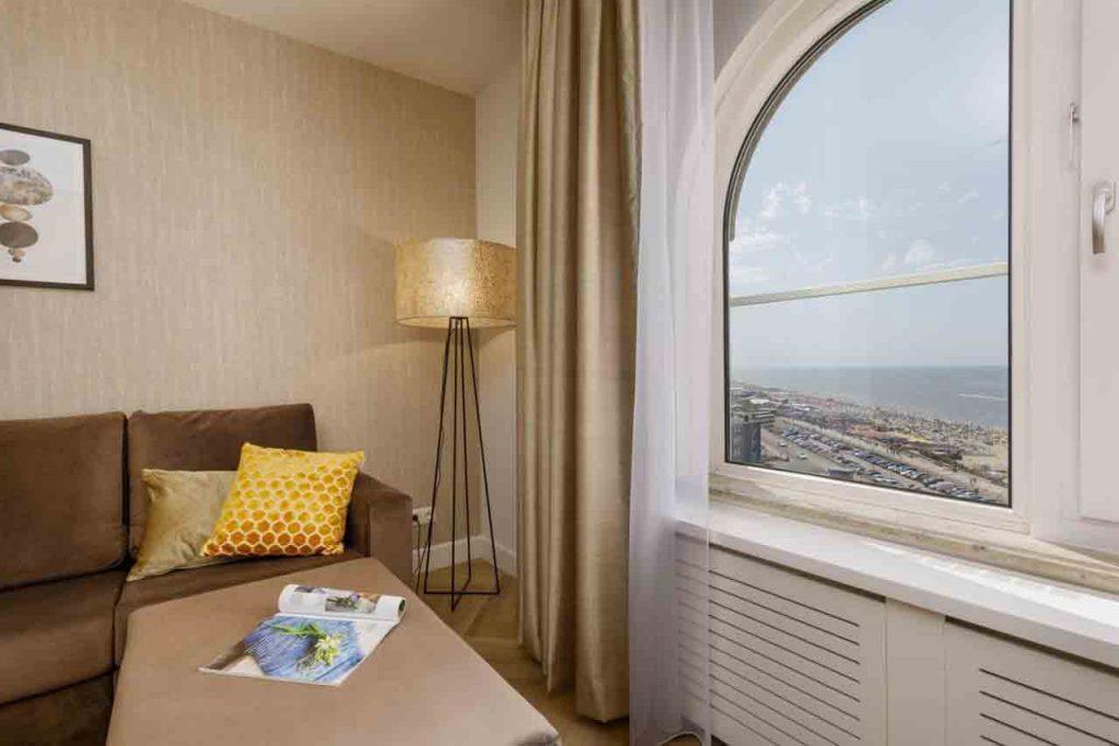 Centerparcs hotel aan zee in Zandvoort