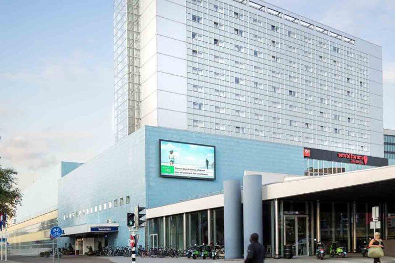 Novotel hotel nabij Scheveningen aan zee