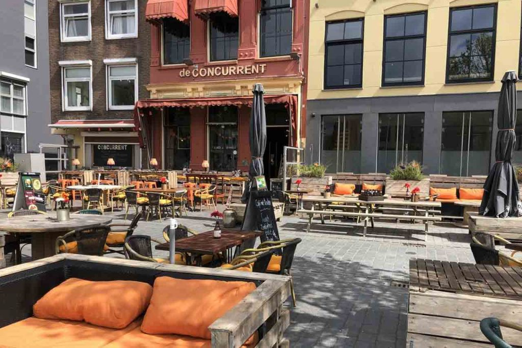 Café de Concurrent Hotel Vlissingen aan zee