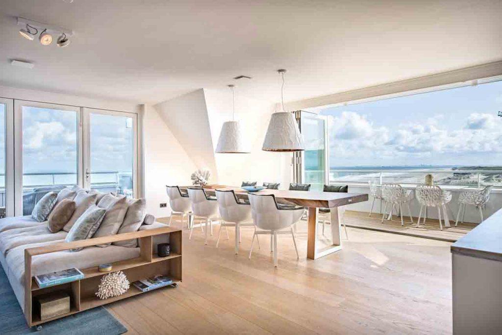 Luxe appartement aan zee in Cadzand-Bad