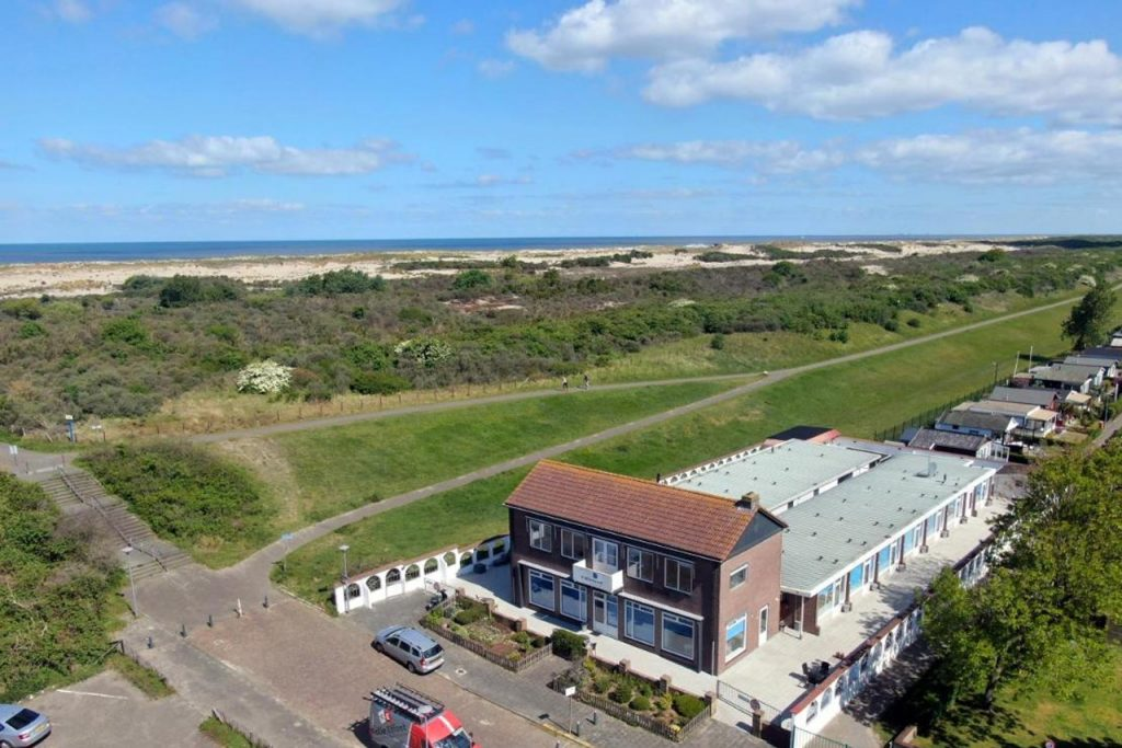 Appartementen en hotel Stuifkenszand Hoek van Holland aan zee