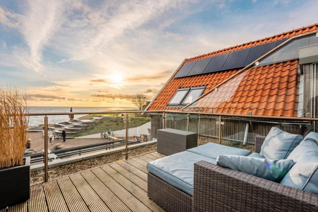 Hotel Zeezicht Vlieland aan zee