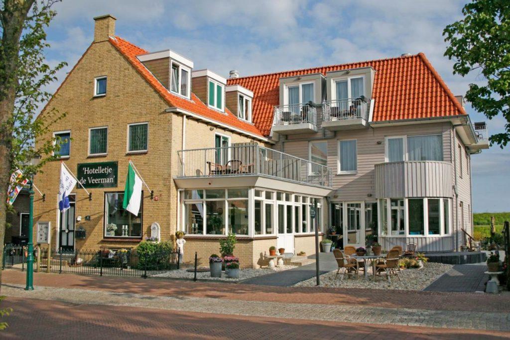 Hotelletje de Veerman Vlieland aan zee